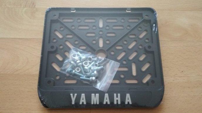 190х145 Рамки номера мотоцикла YAMAHA рельеф