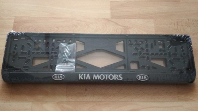 Номерные рамки KIA MOTORS рельеф
