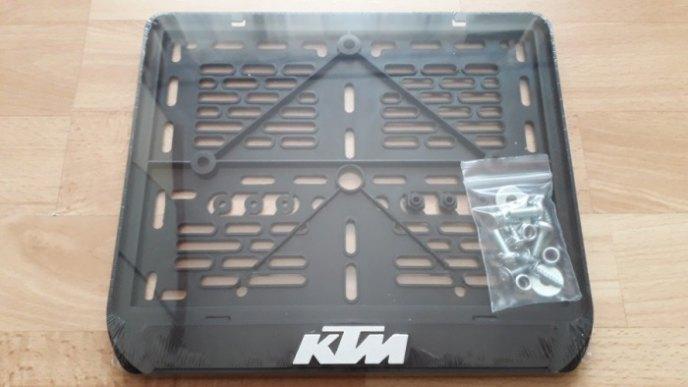 245х185 МОТОрамка KTM рельеф