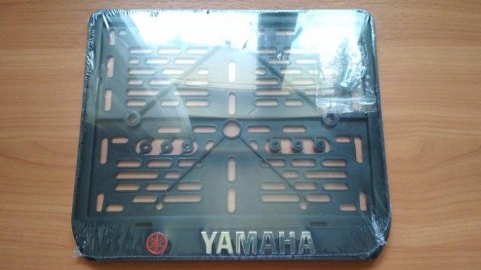 Рамка номерного знака мотоцикла YAMAHA рельеф