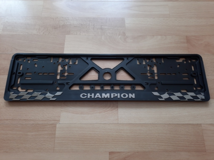 Номерная рамка CHAMPION рельеф
