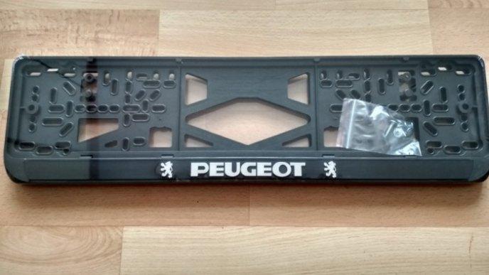 Номерная рамка PEUGEOT рельеф