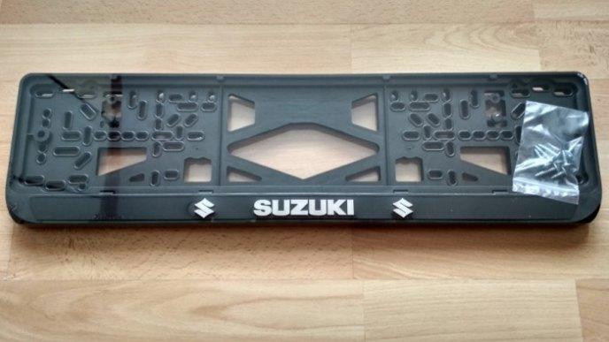 Номерная рамка SUZUKI рельеф