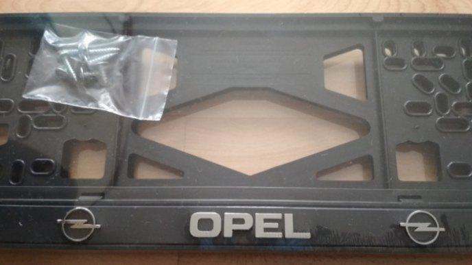 Номерные рамки OPEL рельеф