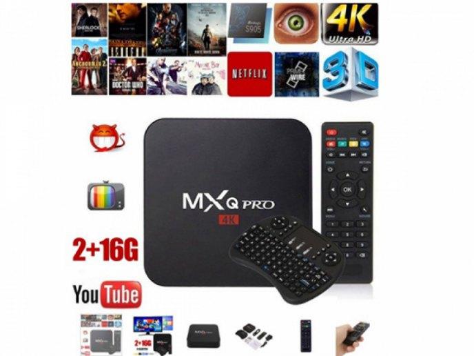 Приставка Smart TV Box Quad-Core WiFi Media Player