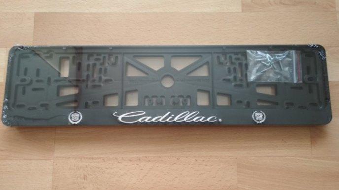 Рамка номерная CADILLAC рельеф