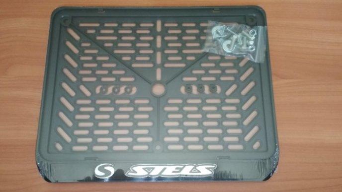 Рамка номера квадроцикла STELS рельеф 288×206