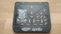 190х145 Рамки номера мотоцикла Aprilia рельеф