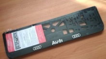 Рамка номерная Audi рельеф
