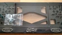 Номерные рамки Ford рельеф
