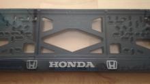 Номерные рамки Honda рельеф