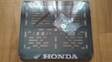 Рамка для номера мотоцикла HONDA рельеф