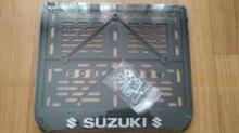 Рамка для номера мотоцикла SUZUKI рельеф