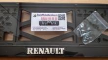 Номерная рамка RENAULT рельеф
