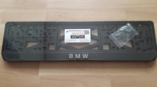 Номерные рамки BMW рельеф
