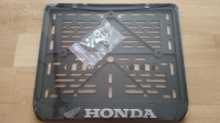 245х185 Рамка для номера мотоцикла HONDA рельеф