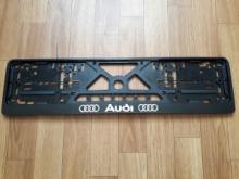 Рамка номерного знака AUDI рельеф