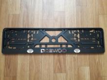 Рамка номерного знака DAEWOO рельеф