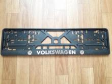 Рамка номерного знака VOLKSWAGEN рельеф