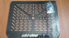 Рамка номера квадроцикла SKI DOO рельеф