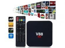 Smart Android TV-box V88 WIFI, андроид ТВ приставка