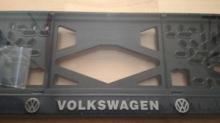 Номерная рамка Volkswagen рельеф