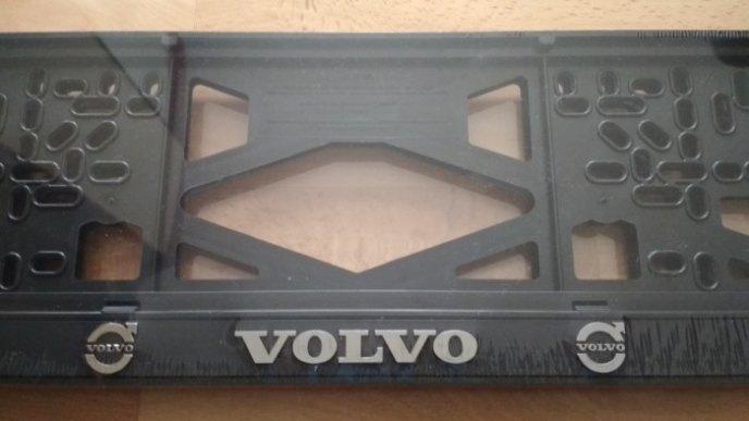 Рамка номерного знака VOLVO рельеф